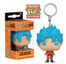 LLAVERO POP DRAGON BALL SS GOD GOKU