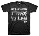 CAMISETA RESERVOIR DOGS LET`S GO TO WORK L