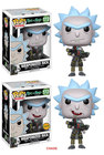 FIGURA POP RICK & MORTY: WEAPONIZED RICK
