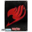 PLACA DE METAL FAIRY TAIL EMBLEM 28X38