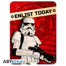 PLACA DE METAL STAR WARS ELIST TODAY 28X38