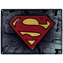 PLACA DE METAL SUPERMAN 28X38