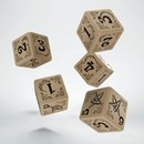 QW ARKHAM HORROR BEIGE & BLACK 5D6 SET