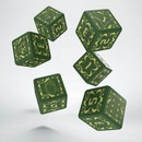 QW DADOS BATTLETECH HOUSE LIAO D6 SET (6)