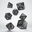 QW DADOS CLASSIC RPG SMOKY & WHITE SET (7)