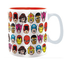 TAZA MARVEL SUPERHEROE HEADS