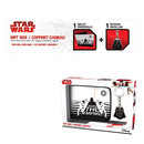 PACK CARTERA + LLAVERO STAR WARS DARTH VADER