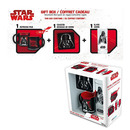 PACK STAR WARS DARTH VADER POSAVASOS + TAZAS
