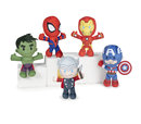 MARVEL HEROES PLUSH 19CM ASSORTMENT (12)