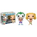 POP VINYL FIGURE DC: BEACH JOKER & HARLEY