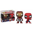 POP VINYL FIGURE MARVEL PACK: IRON MAN & SPIDERMAN