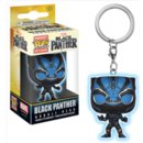 POP KEYCHAIN BLACK PANTHER GITD