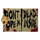 DOORMAT -  WALKING DEAD DON`T OPEN 40 X 60