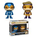 FIGURA POP DC: BLUE BEETLE & BOOSTER GOLD