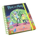 NOTEBOOK A5 RICK & MORTY PORTAL