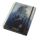 NOTEBOOK A5 STAR WARS EP VIII CAST