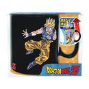 TAZA DRAGON BALL GOKU VS BUU (CALOR)