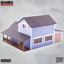 PCG: SUBURBAN BLUE HOUSE