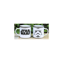 TAZA CAMPING STAR WARS METAL RETRO STORMTROOPER