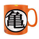 TAZA DRAGON BALL NARANJA KAME