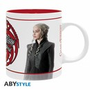 GAME OF THRONES MUG:  JON & DAENERYS