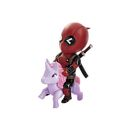 FIGURA BEAST KINGDOM DEADPOOL UNICORNIO 10 CM