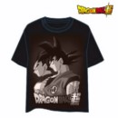 DRAGON BALL T-SHIRT JUNTOS XXL
