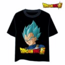 DRAGON BALL T-SHIRT VEGETA GOD L