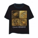 GAME OF THRONES T-SHIRT DORADO L