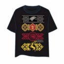 GAME OF THRONES T-SHIRT MOSAICOS L