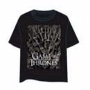GAME OF THRONES T-SHIRT TRONO HIERRO XL