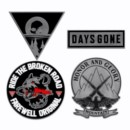 DAYS GONE PIN SET (4)