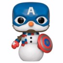 POP FIGURE MARVEL HOLIDAY: CAPTAIN AMERICA SNOW