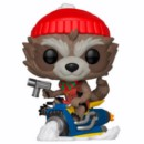 POP FIGURE MARVEL HOLIDAY: ROCKET MOTOR
