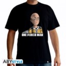 ONE PUNCH MAN SAITAMA FUN XS T-SHIRT