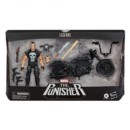 FIGURA HASBRO MARVEL LEGENDS PUNISHER Y MOTO