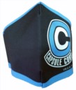 MASCARILLA OFICIAL LAVABLE DRAGON BALL CAPSULE CORP LOGO L