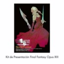 FINAL FANTASY TCG OPUS 13 PRE-RELEASE KIT