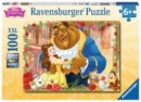 DISNEY BEAUTY AND THE BEAST PUZZLE 100 PCS